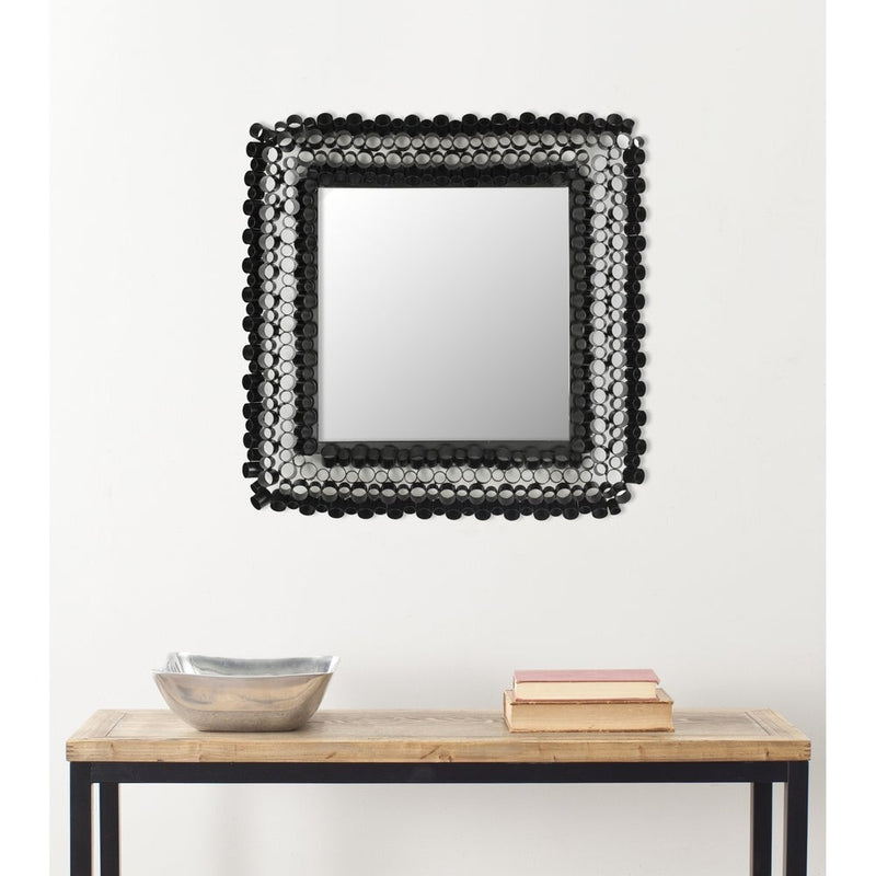 Sowell Black Full-Length Leaning Mirror