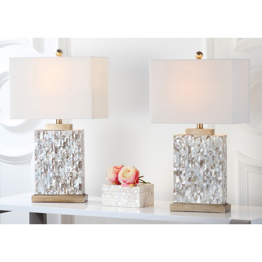 25-inch Sea Shell Table Lamp (Set of 2) - RoomsandDecor.com