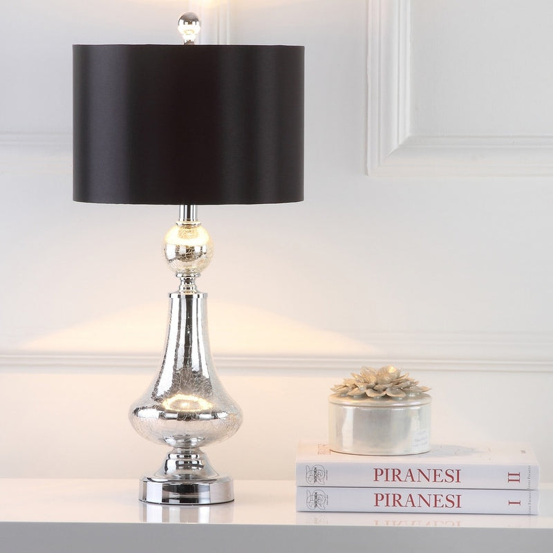 26-inch Crackle Glass Table Lamp (Set of 2) - RoomsandDecor.com