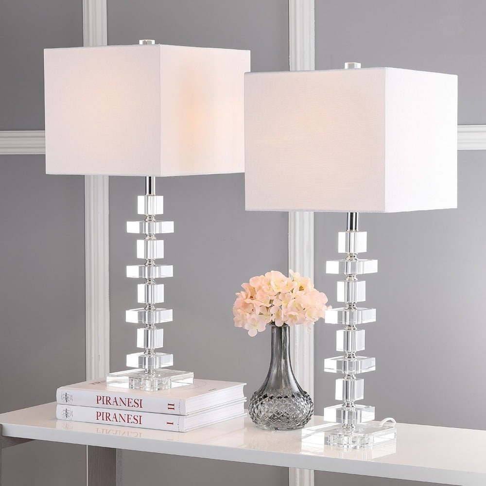 28-inch Crystal Deco Crystal Table Lamp (Set of 2) - RoomsandDecor.com