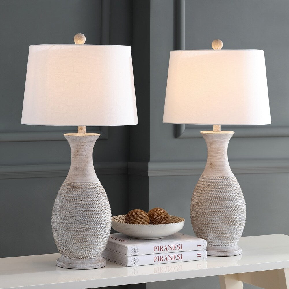 30-inch Grey LED Table Lamp (Set of 2) - RoomsandDecor.com