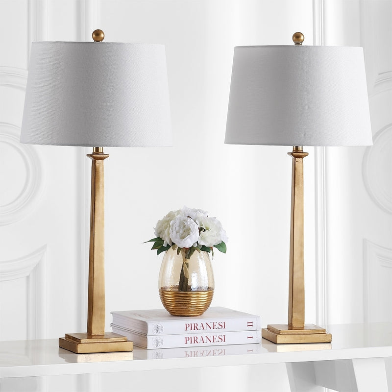 32-inch Andino Gold Table Lamp (Set of 2) - RoomsandDecor.com