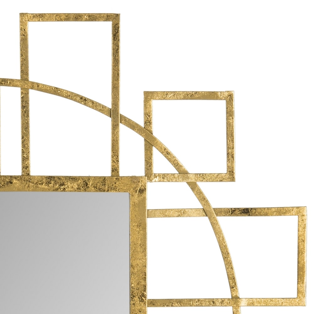 Safavieh Matrix Gold 35-inch Decorative Mirror - RoomsandDecor.com