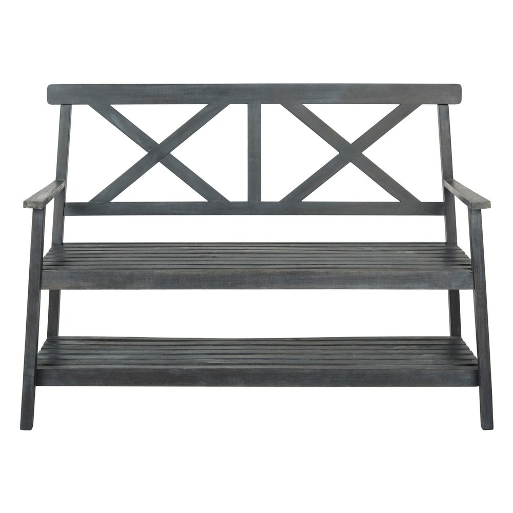 49.21-Inch W Outdoor Bench