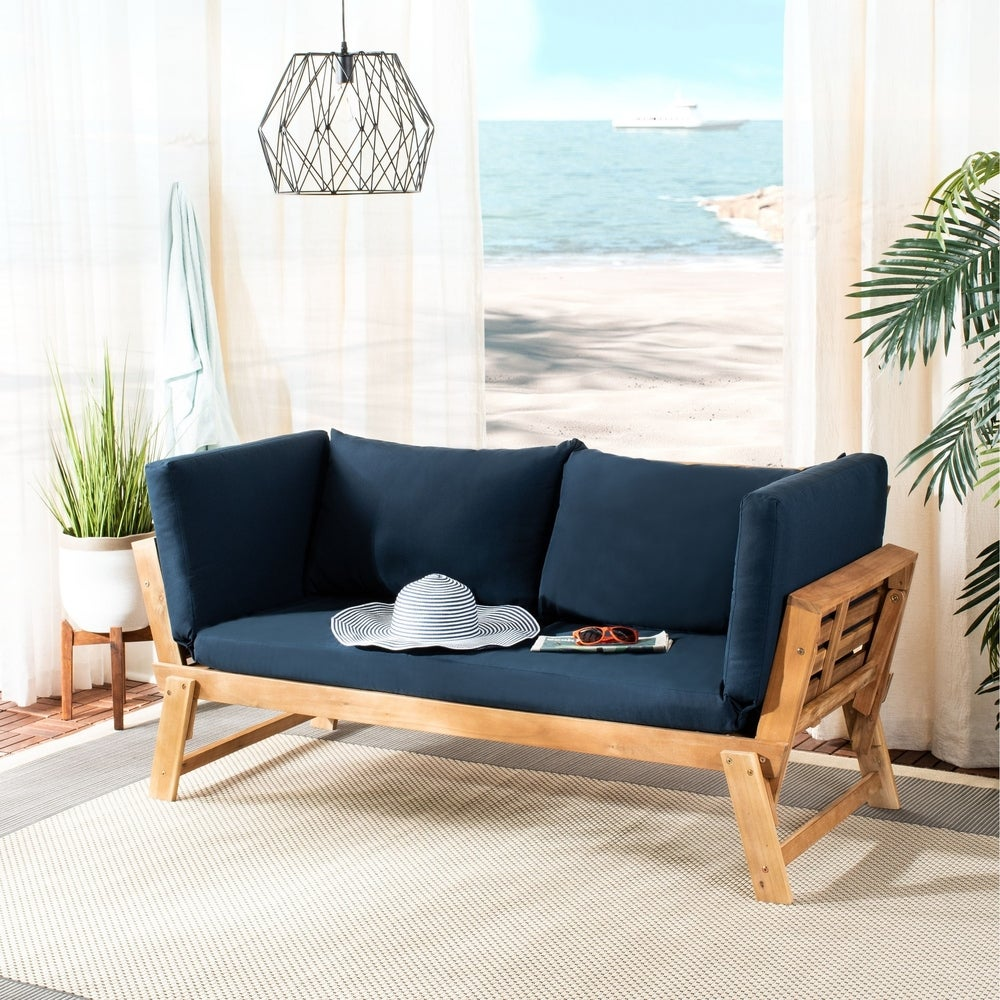 Safavieh Outdoor Living Tandra Contemporary Daybed