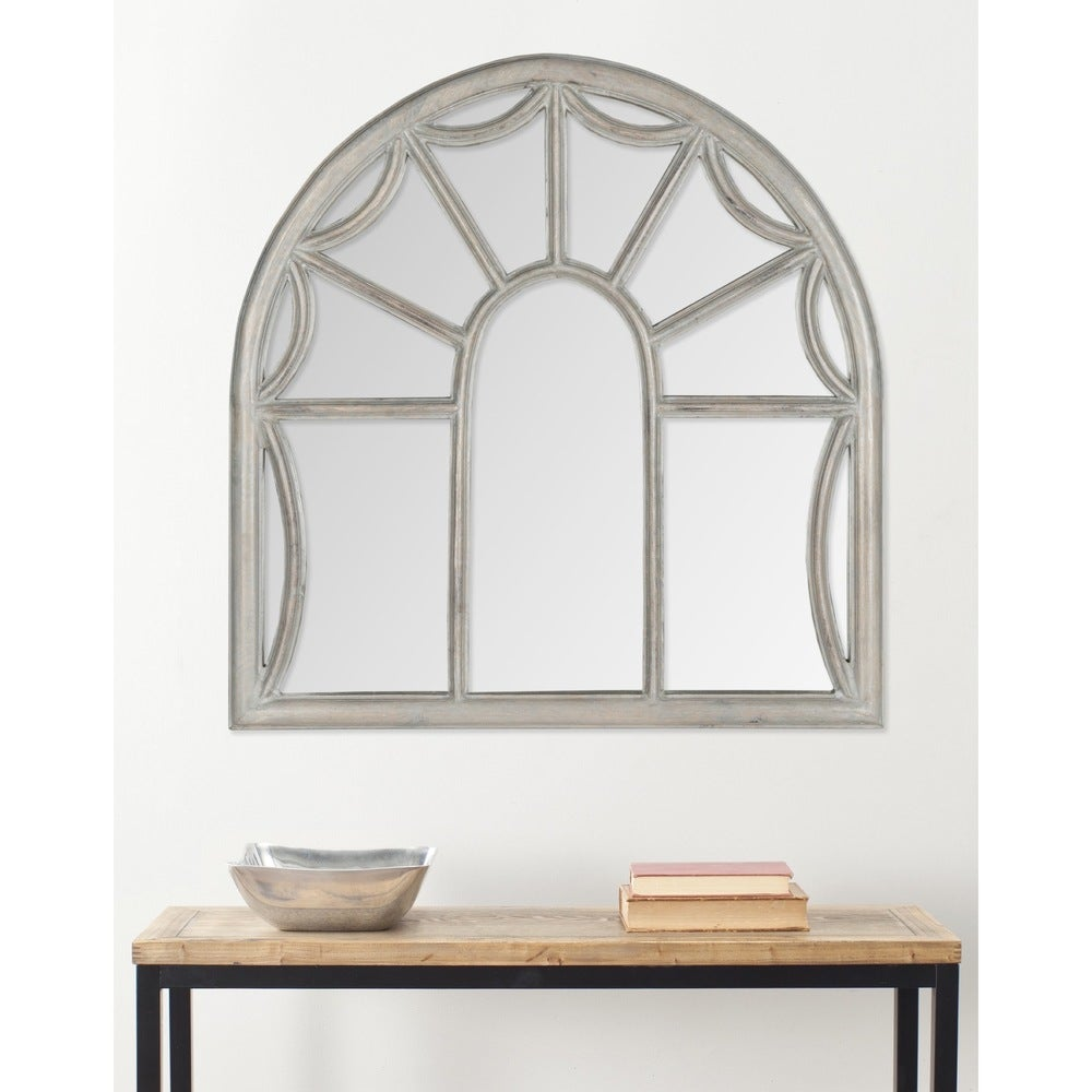 Palladian Grey 33-inch Decorative Mirror