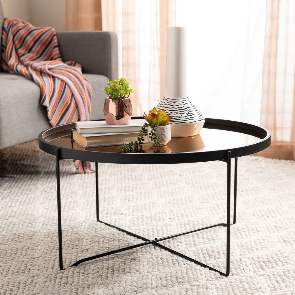 Ruby Round Tray Top Coffee Table