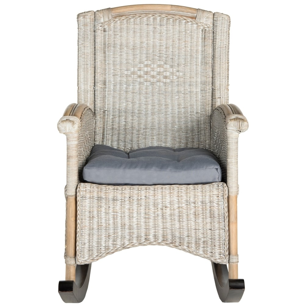 Verona Antique Grey Rocking Chair