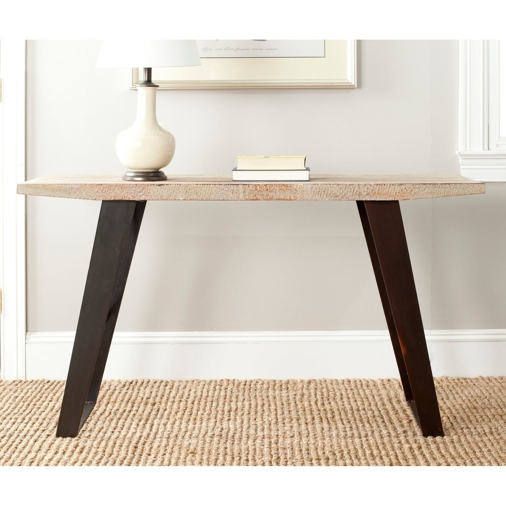 Safavieh Waldo Natural Console Table