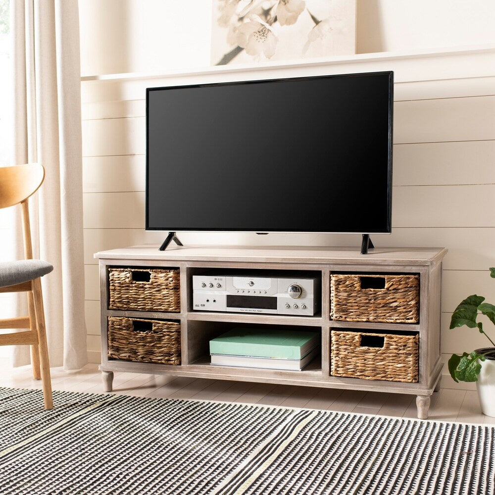 "4-Drawer Storage Entertainment Console - 47.2"" - RoomsandDecor.com"