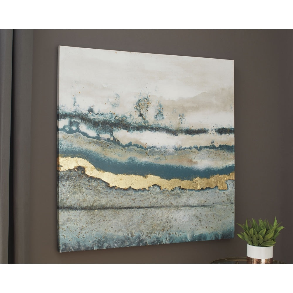 Vin Contemporary Abstract Wall Art - RoomsandDecor.com
