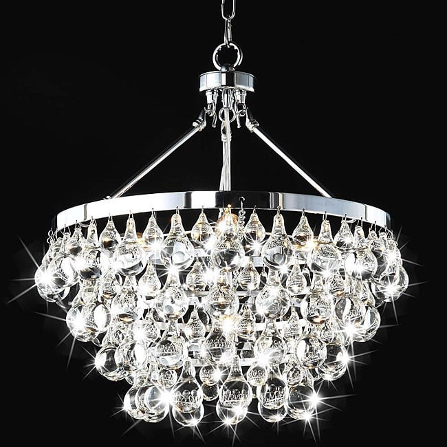 5-light Luxury Crystal Chandelier - RoomsandDecor.com
