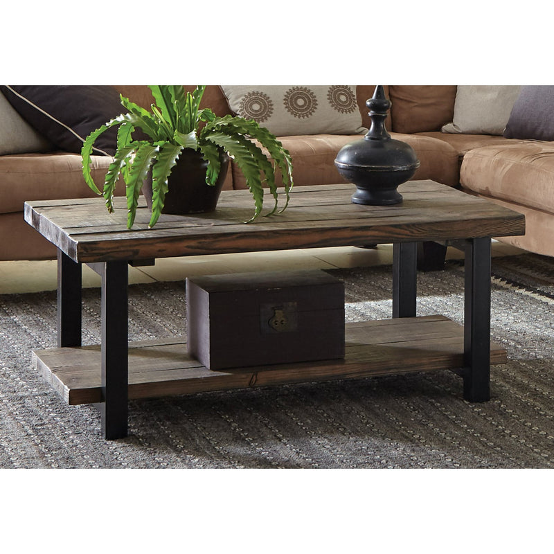 Reclaimed Wood 42-inch Coffee Table - RoomsandDecor.com