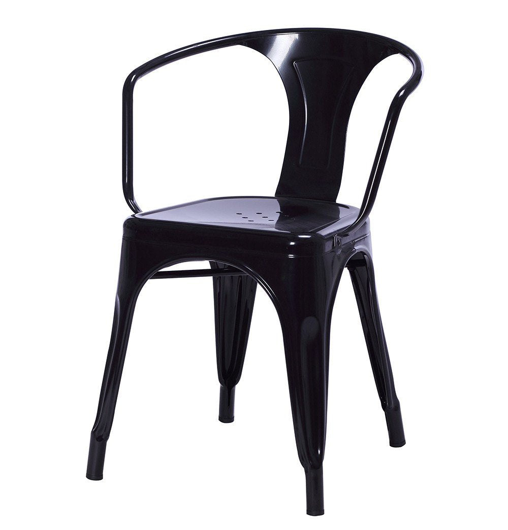 Tolix Style Dining Armchair - Reproduction