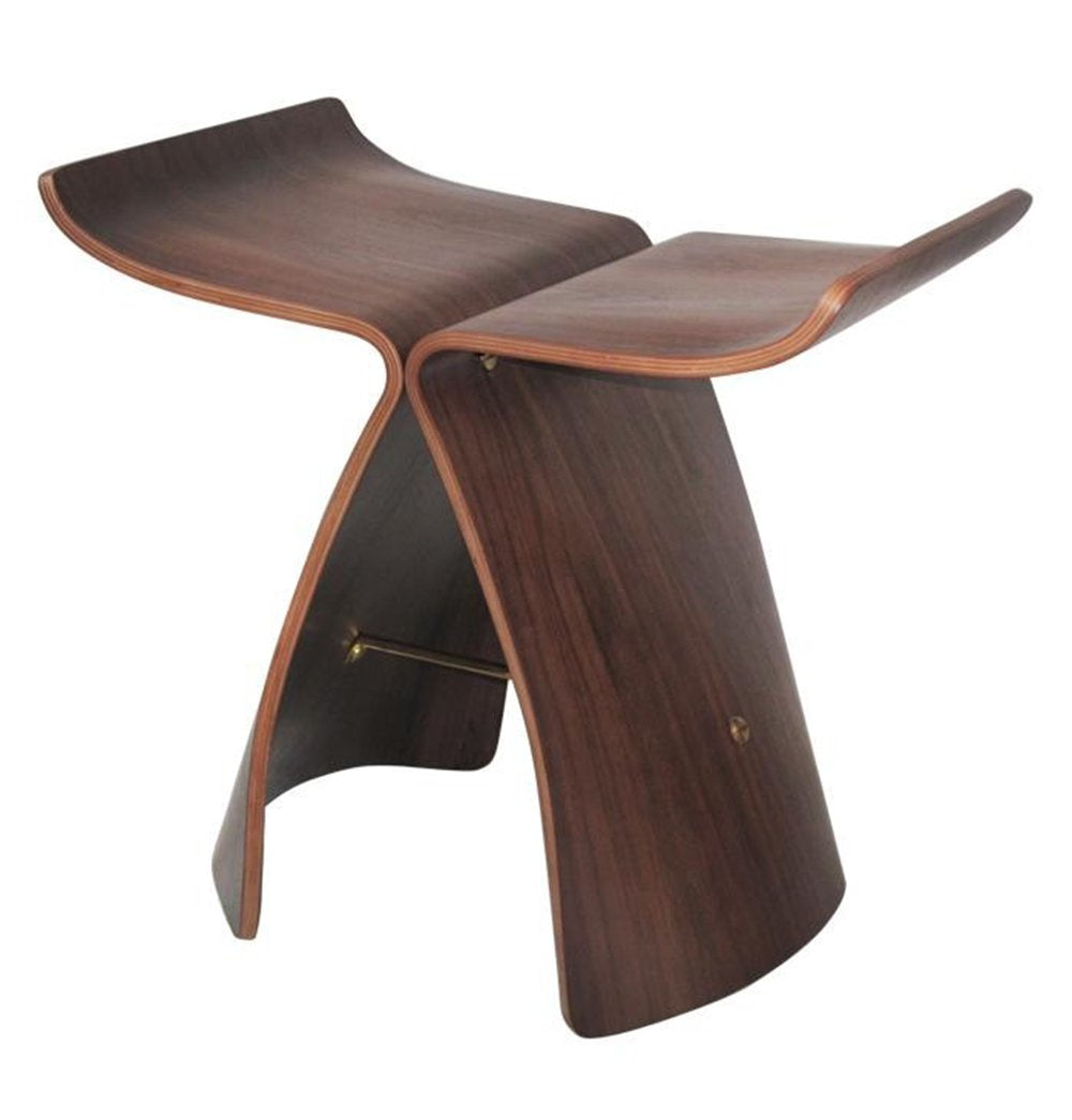 Butterfly Stool - Walnut - Reproduction