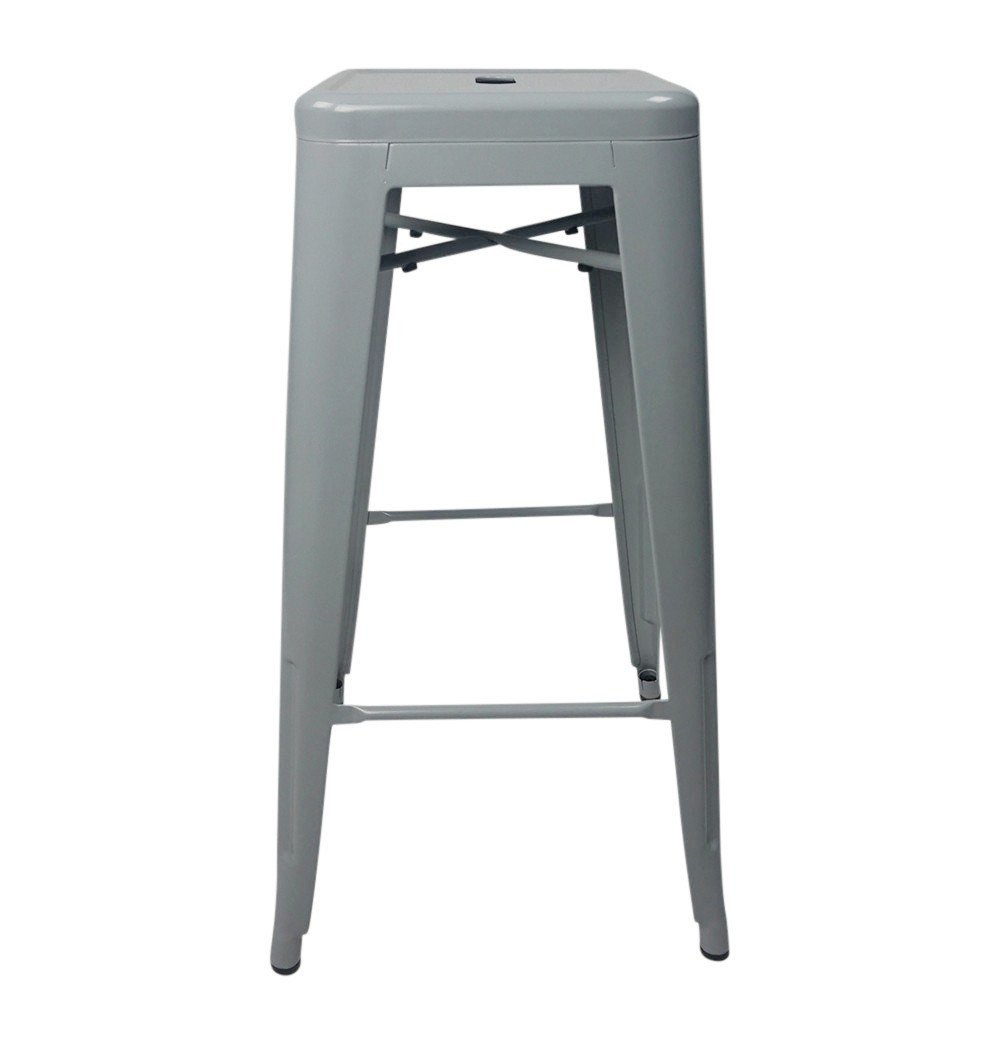 Tolix Style Bar Stool 76cm - Reproduction
