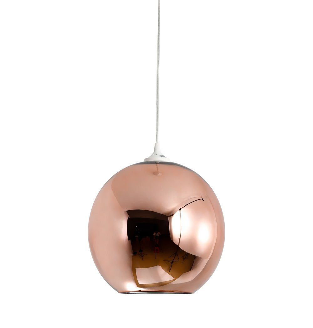 Mirror Ball Shade Pendant Lamp - Copper - Reproduction