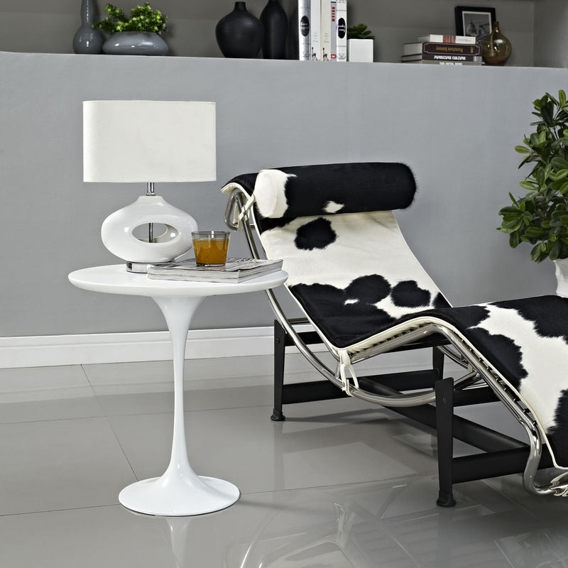 Kylie Modern Mirrored Accent End Table