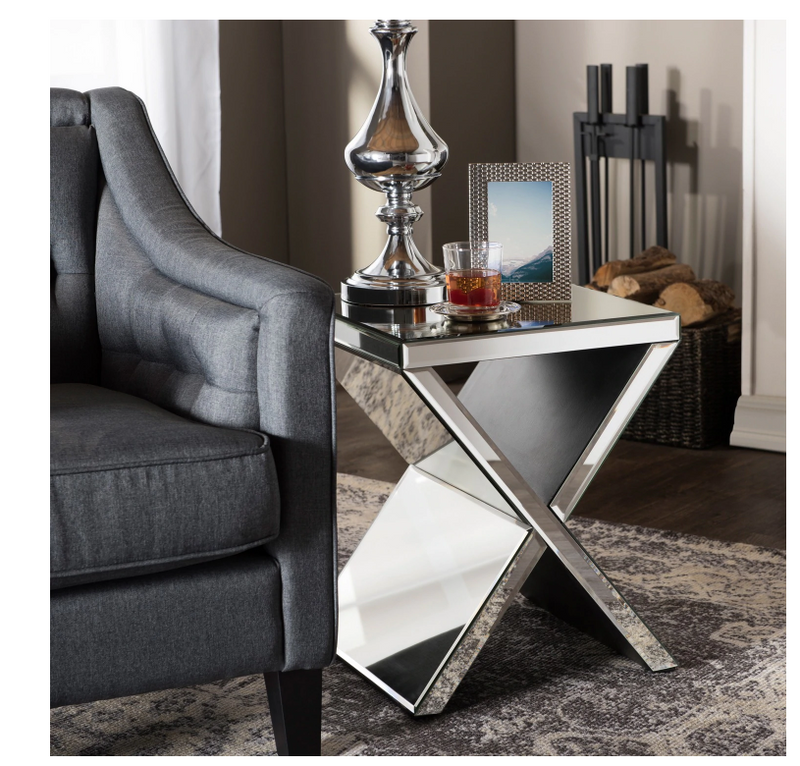 Hollywood Glam End Table - RoomsandDecor.com