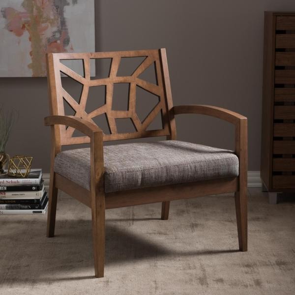 Paulen Upholstered Lounge Chair - RoomsandDecor.com