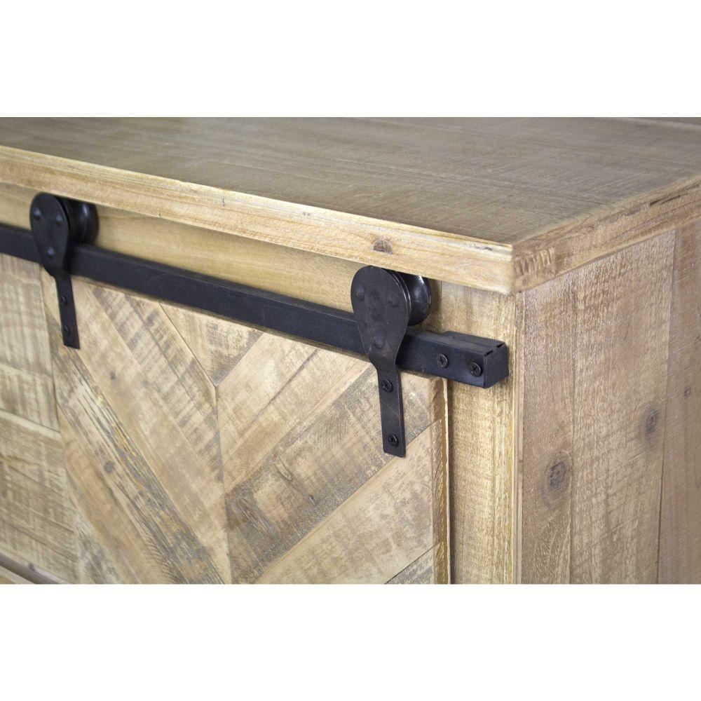Shelly 50 in Natural 2-Drawer Entertainment Center - RoomsandDecor.com