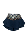 SEKI ROYAL BLUE SKIRT