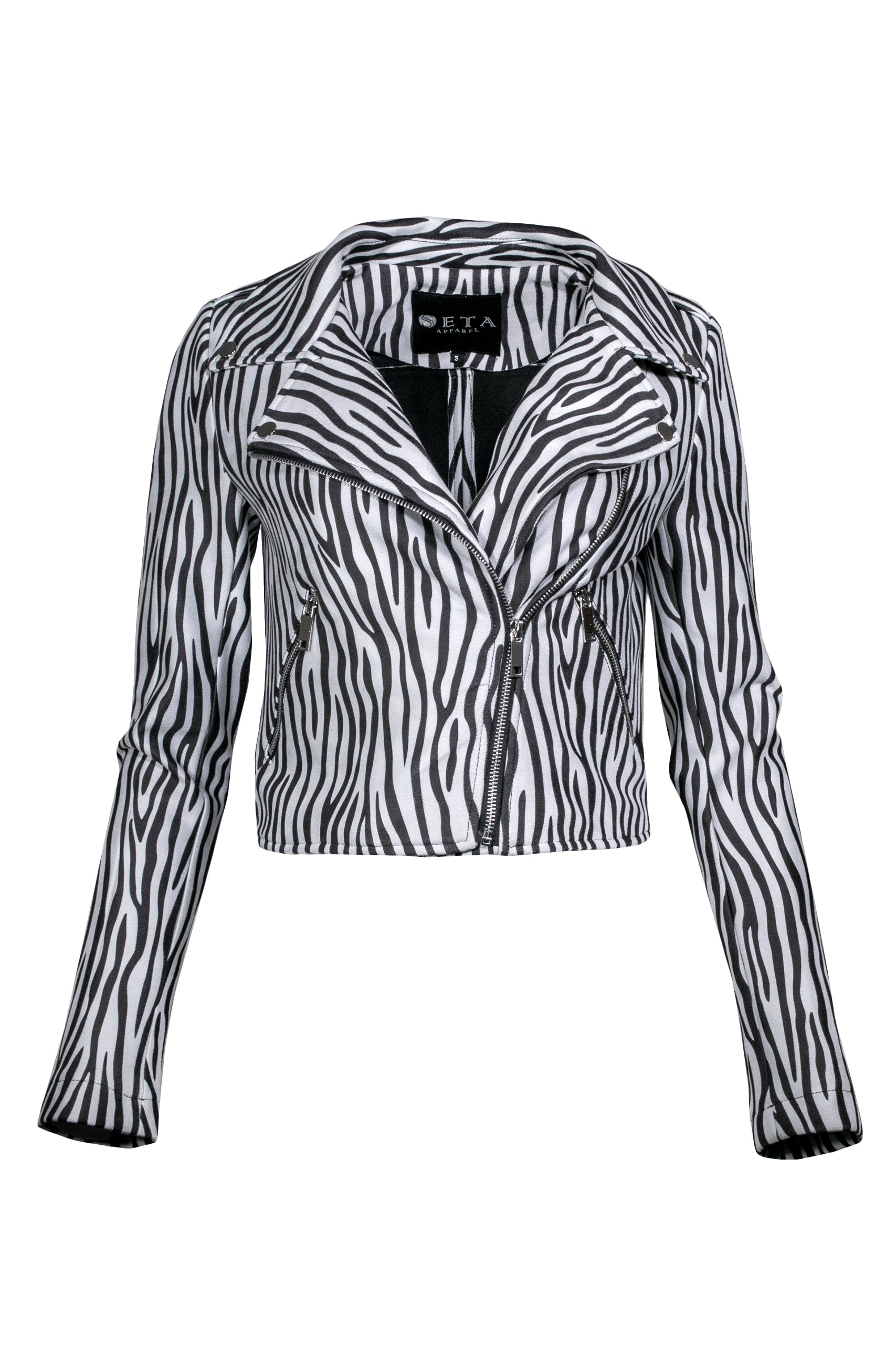 ZEBRA MOTORCYCLE JACKET