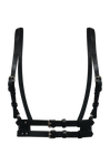 BLACK EMBLEMATIC HARNESS