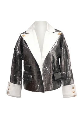 SYLVER METALLIC JACKET