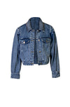 DENIM PIN JACKET