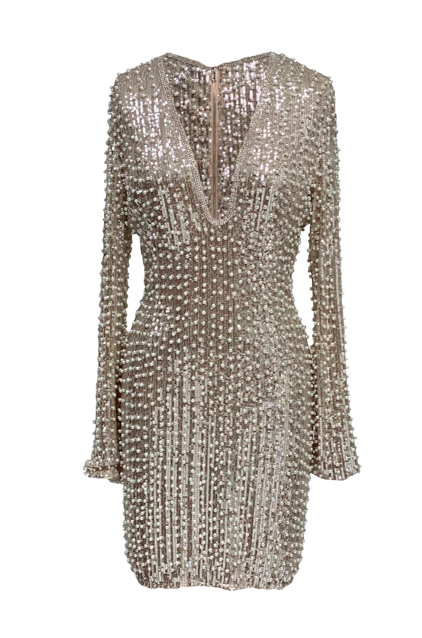 PEARL CANNES DRESS