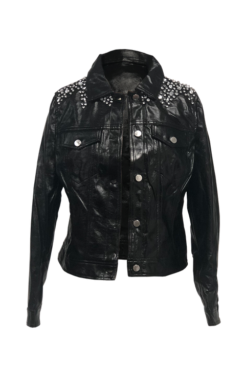 LEATHER STONE JACKET
