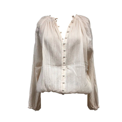 ARTISAN COTTON BLOUSE