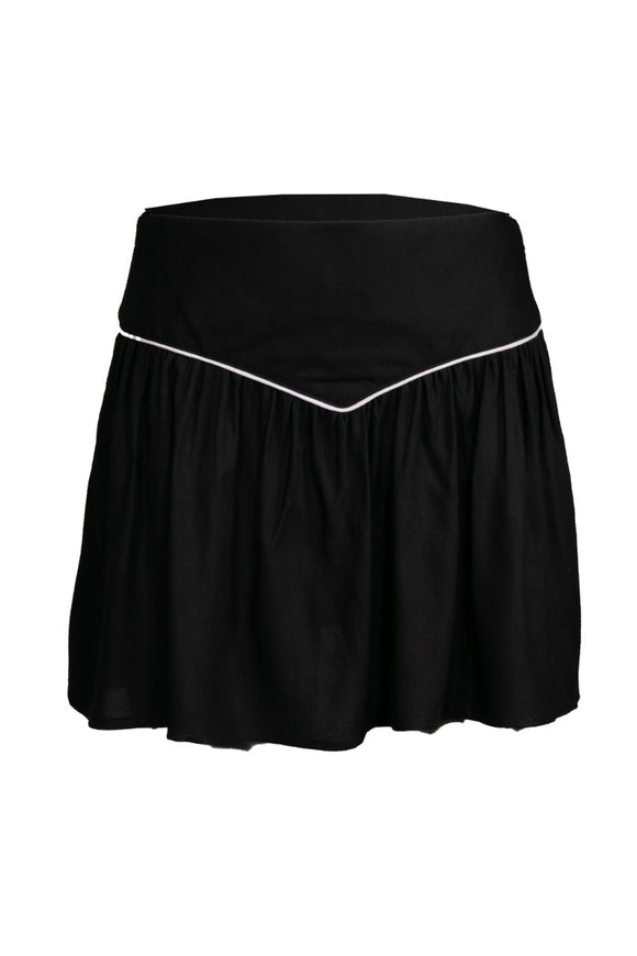BLACK COUNTRYSIDE SKIRT