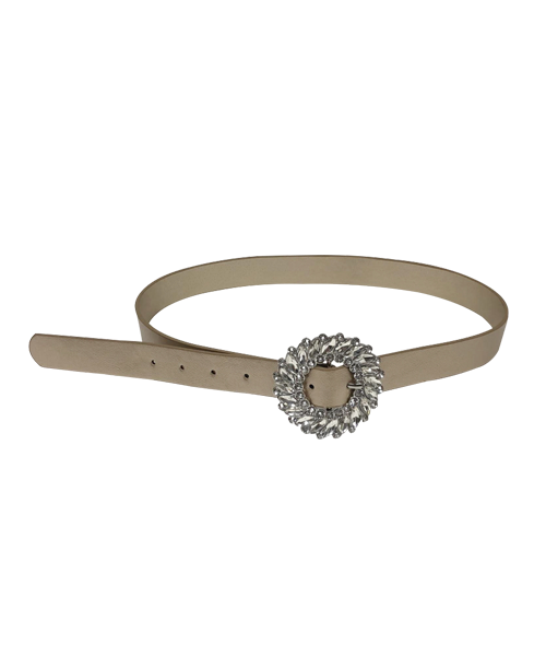 CRYSTAL FLOWER BELT
