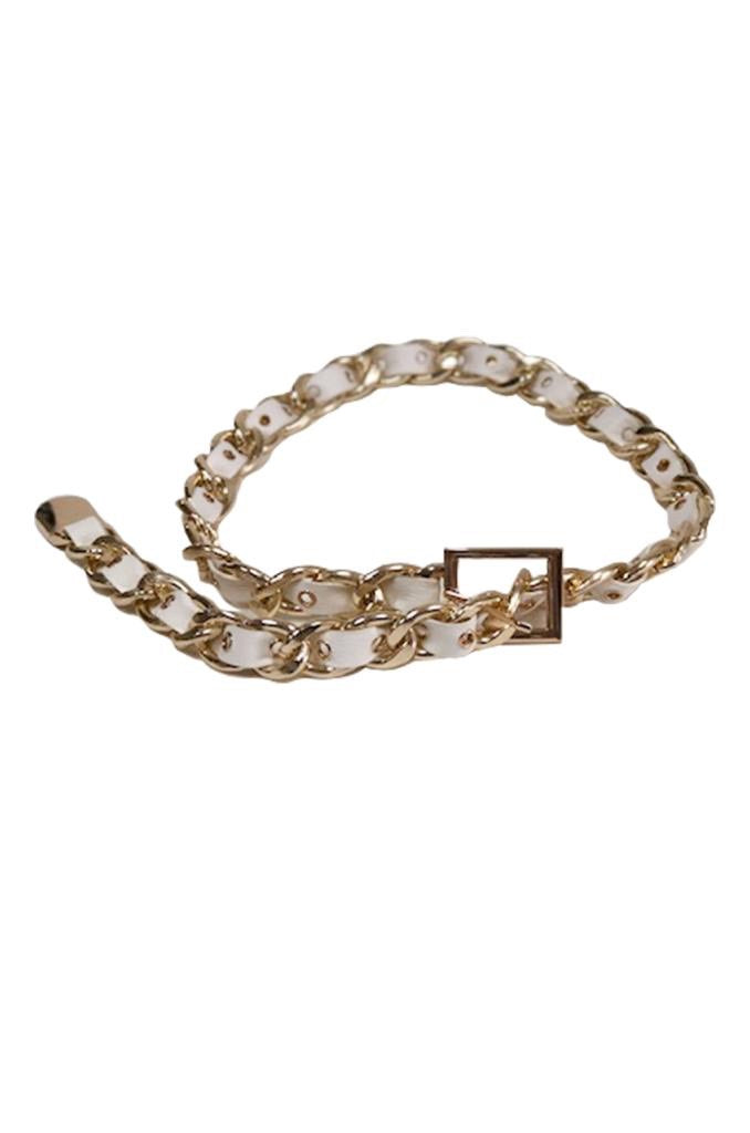 ZIGZAG CHAIN BELT