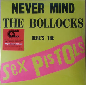 "Sex Pistols ""Never Mind The Bollocks"" 180gm LP"
