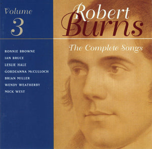 """Complete Songs Of Robert Burns - Volume 3"" CD"
