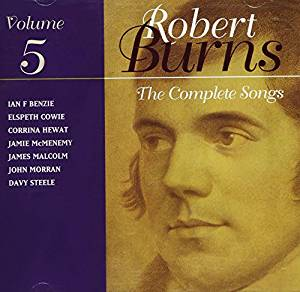 """Complete Songs Of Robert Burns - Volume 5"" CD"