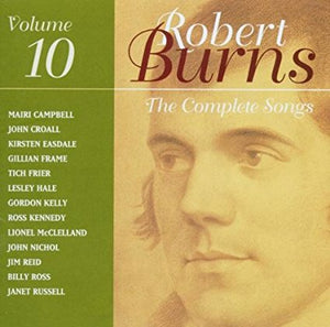 """Complete Songs Of Robert Burns - Volume 10"" CD"