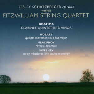"Fitzwilliam String Quartet ""Brahms: Clarinet Quintet"" SACD"