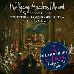 "Scottish Chamber Orchestra ""Mozart: Symphonies 38-41"" SACD (2 discs)"