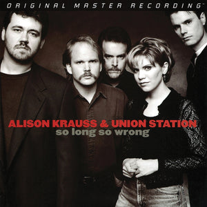 "Alison Krauss & Union Station ‎""So Long So Wrong"" 180gm Audiophile 2LP"
