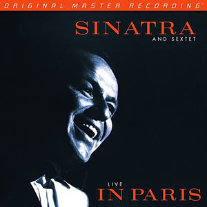 "Frank Sinatra & Sextet ""Live In Paris"" 180gm Audiophile 2LP"