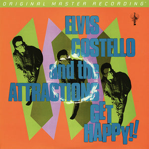 "Elvis Costello And The Attractions ""Get Happy!"" 180gm Audiophile 2LP"
