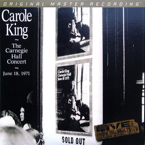 "Carole King ""The Carnegie Hall Concert: June 18, 1971"" 180g Audiophile 2LP"