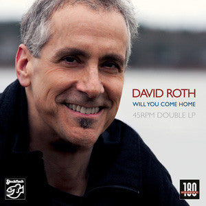 "David Roth""Will You Come Home"" DMM 180 gram 2LP"