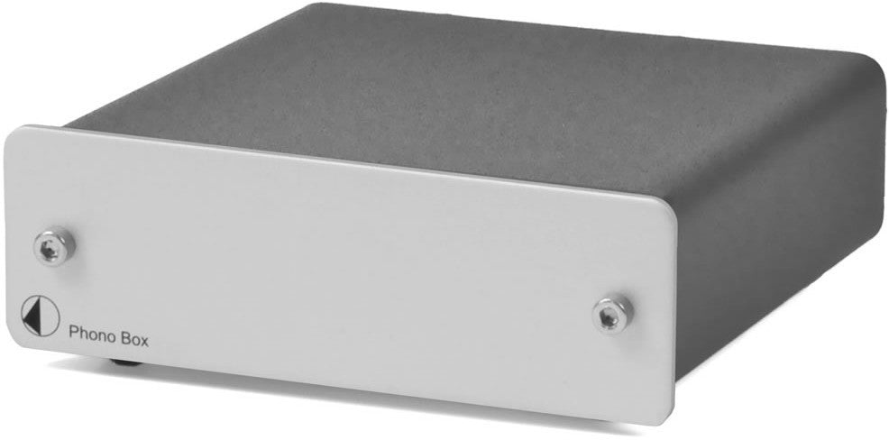 Pro-Ject Phono Box - phono preamplifier (silver)