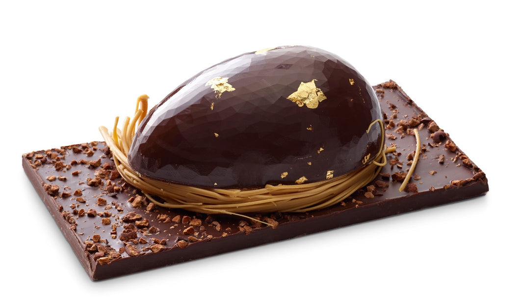 Gold Flecked Easter Egg