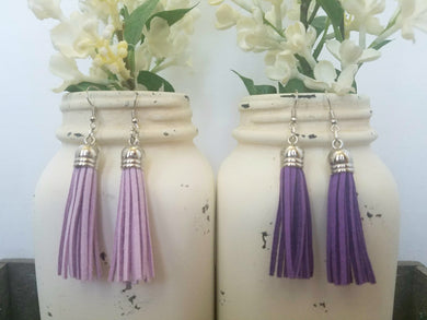 Purple Tassels